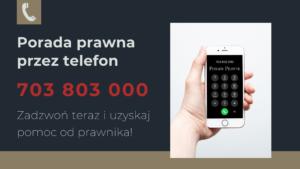 porada prawna przez telefon